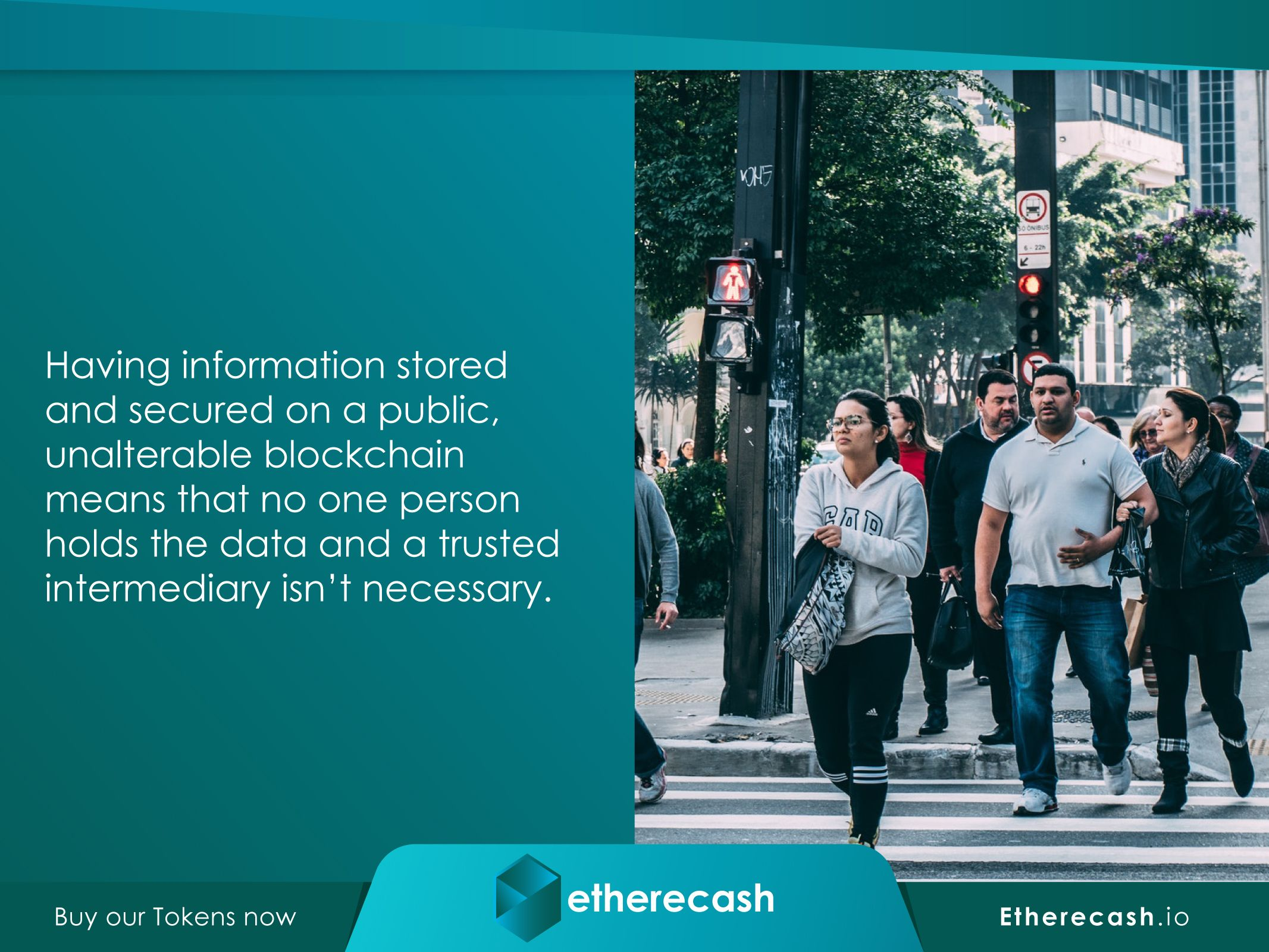 Etherecash.io. Blockchain technology is not only the core