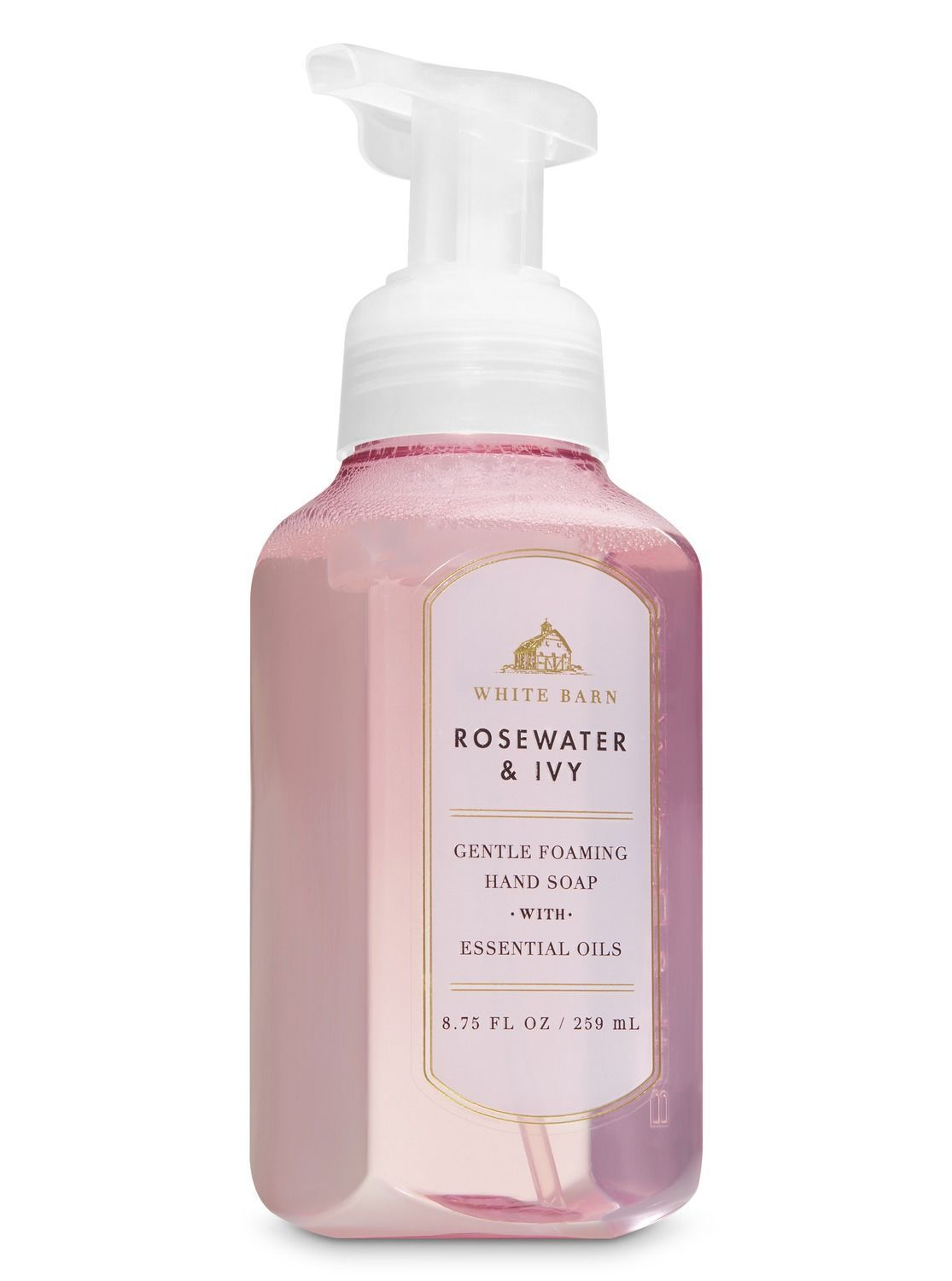 White Barn Rose Water Ivy Gentle Foaming Hand Soap By Bath