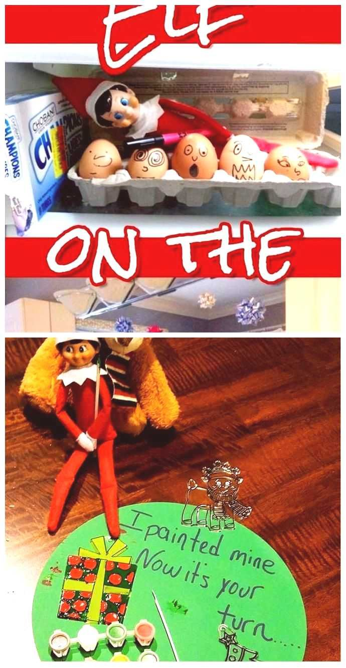 101 Elf on the Shelf Ideas for Christmas 2020 crazy elf such PRANKS 101 Elf o