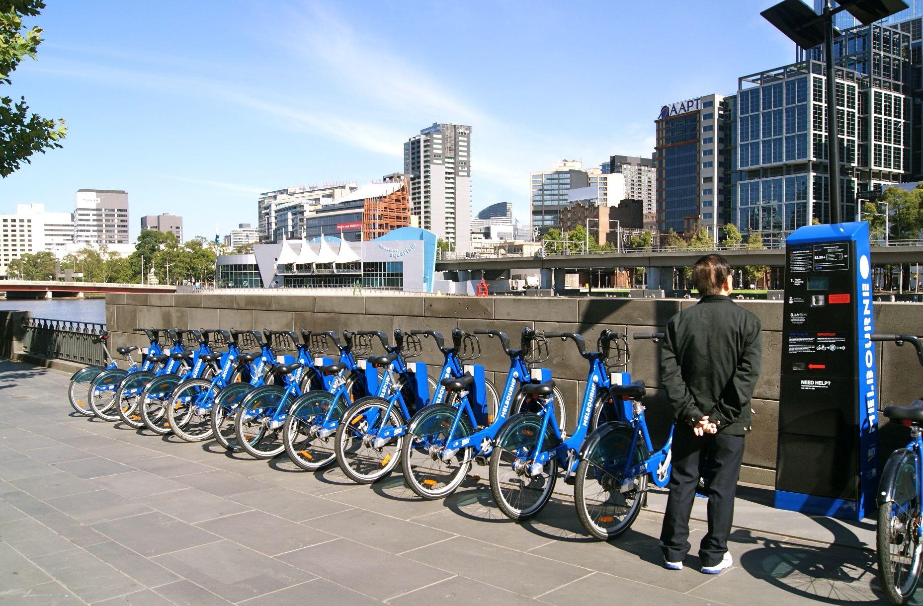 Transport Melbourne Bike Share, Melbourne, Australia