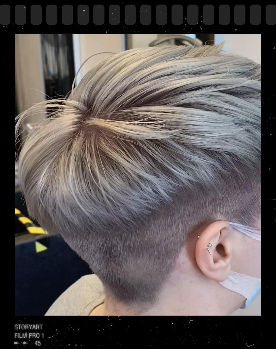 "NAOMI's TUTORIAL ""Boyish Cut"""