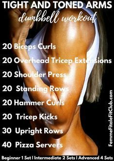 How To Tone Your Arms 💪🏻 For Good