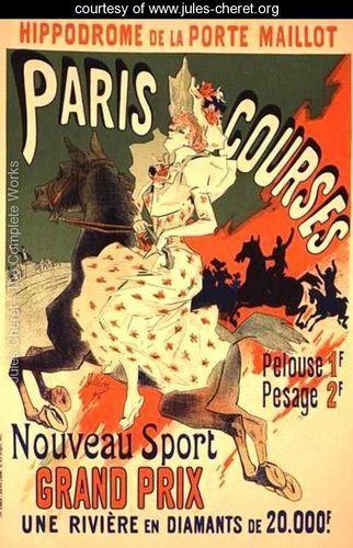 'Paris Courses', at the Hippodrome de la Porte Maillot, Paris, 1890