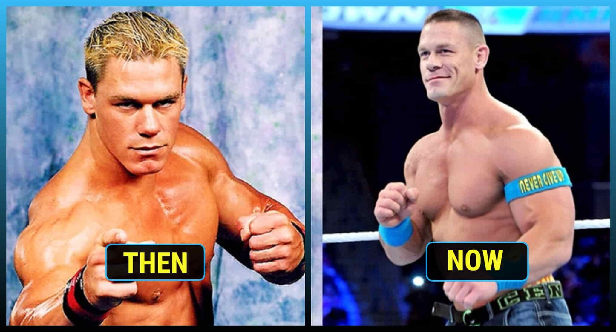 Pictures Of 12 Famous Wwe Superstars Then And Now Most Popular World Wrestling Entertainment Wwe Started As Wrestling Promot Wwe Superstars Superstar Famous