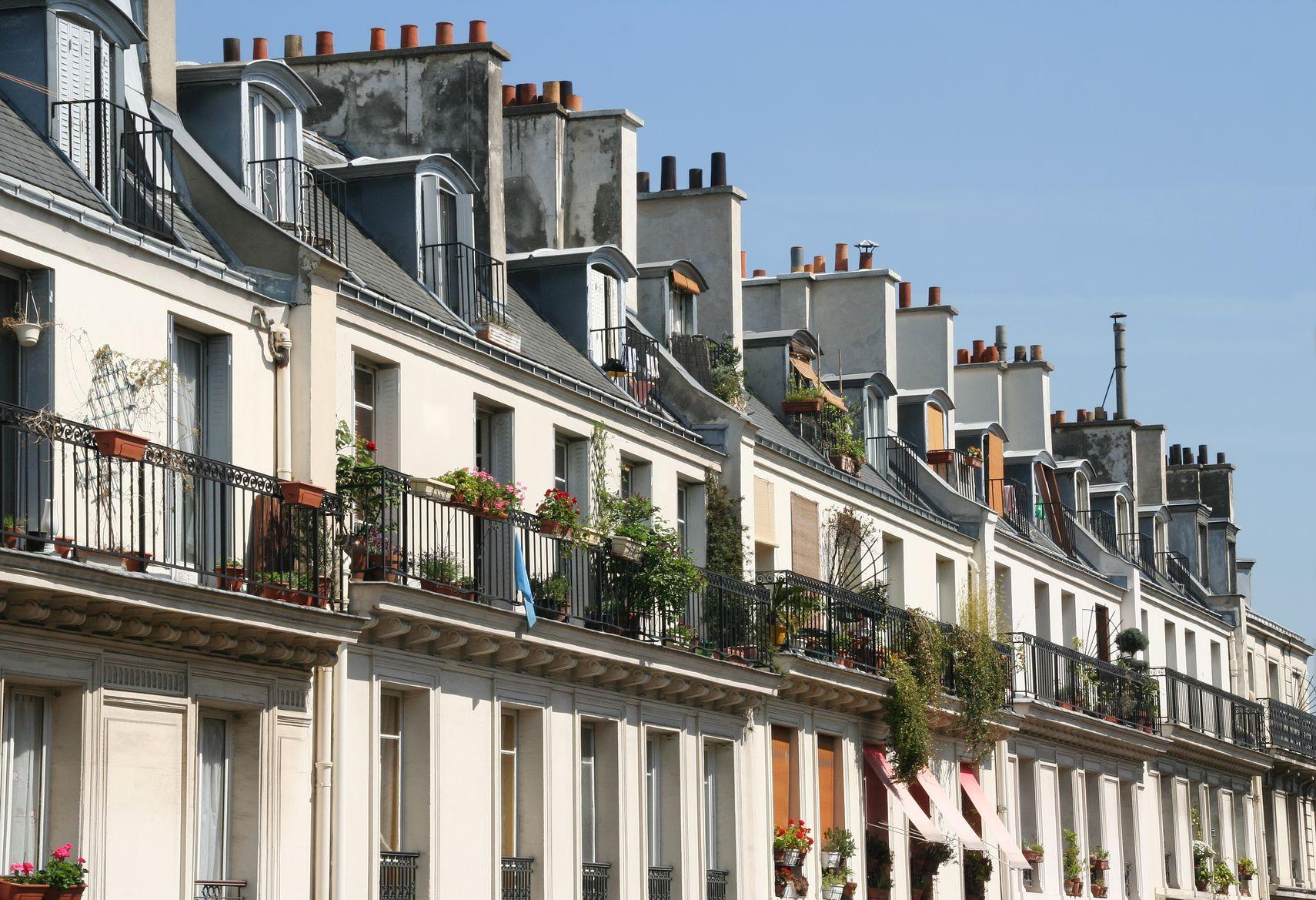 photos of apartments in Paris