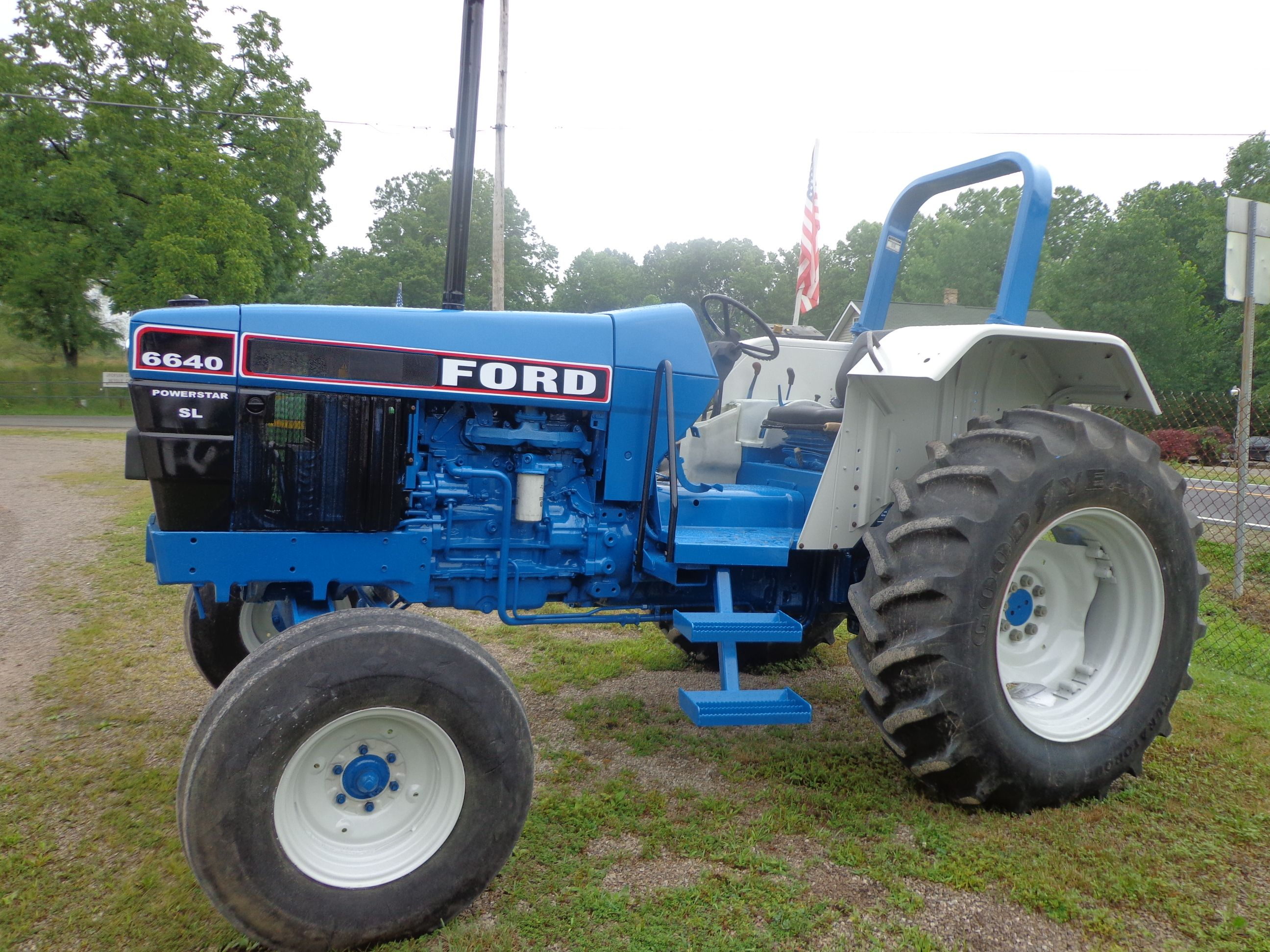 Ford 6640 Tractor Google Search Ford Tractors New Holland