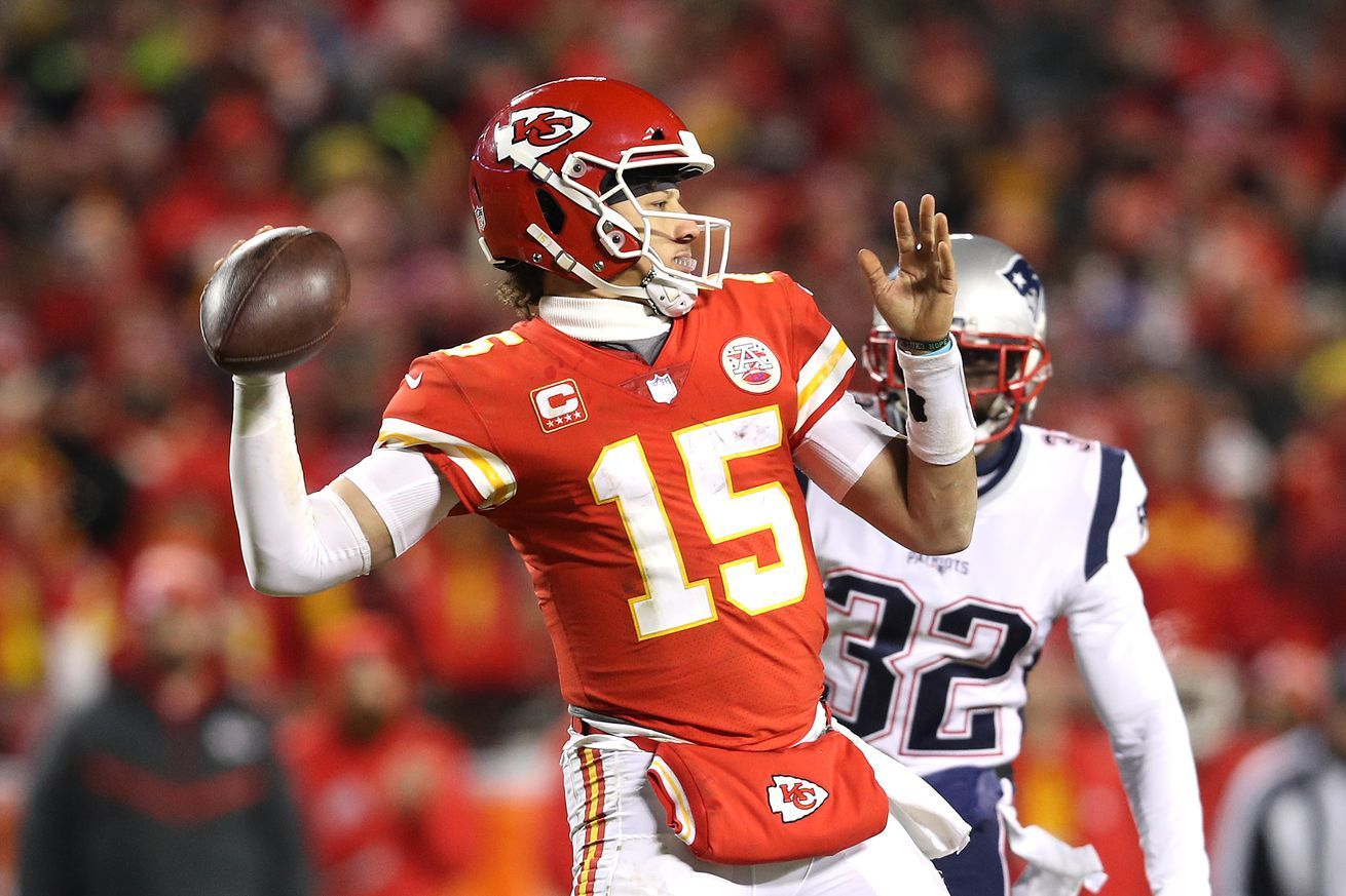 Arrowheadlines Patrick Mahomes Could Make History By Beginning 50 50 Club In 2019 Nfl News Nfl Update Nfl Nfl Slash Afc Championship Nfl Fantasy Football