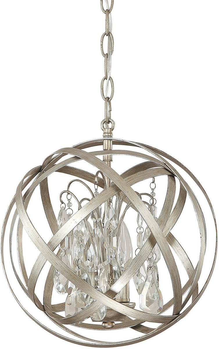 Capital Lighting Axis 3 Light Pendant Winter Gold 4233wg Cr Lampsusa