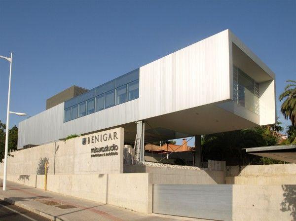 Edificio de oficinas benigar en alicante javier garc a for Oficinas cajamar alicante