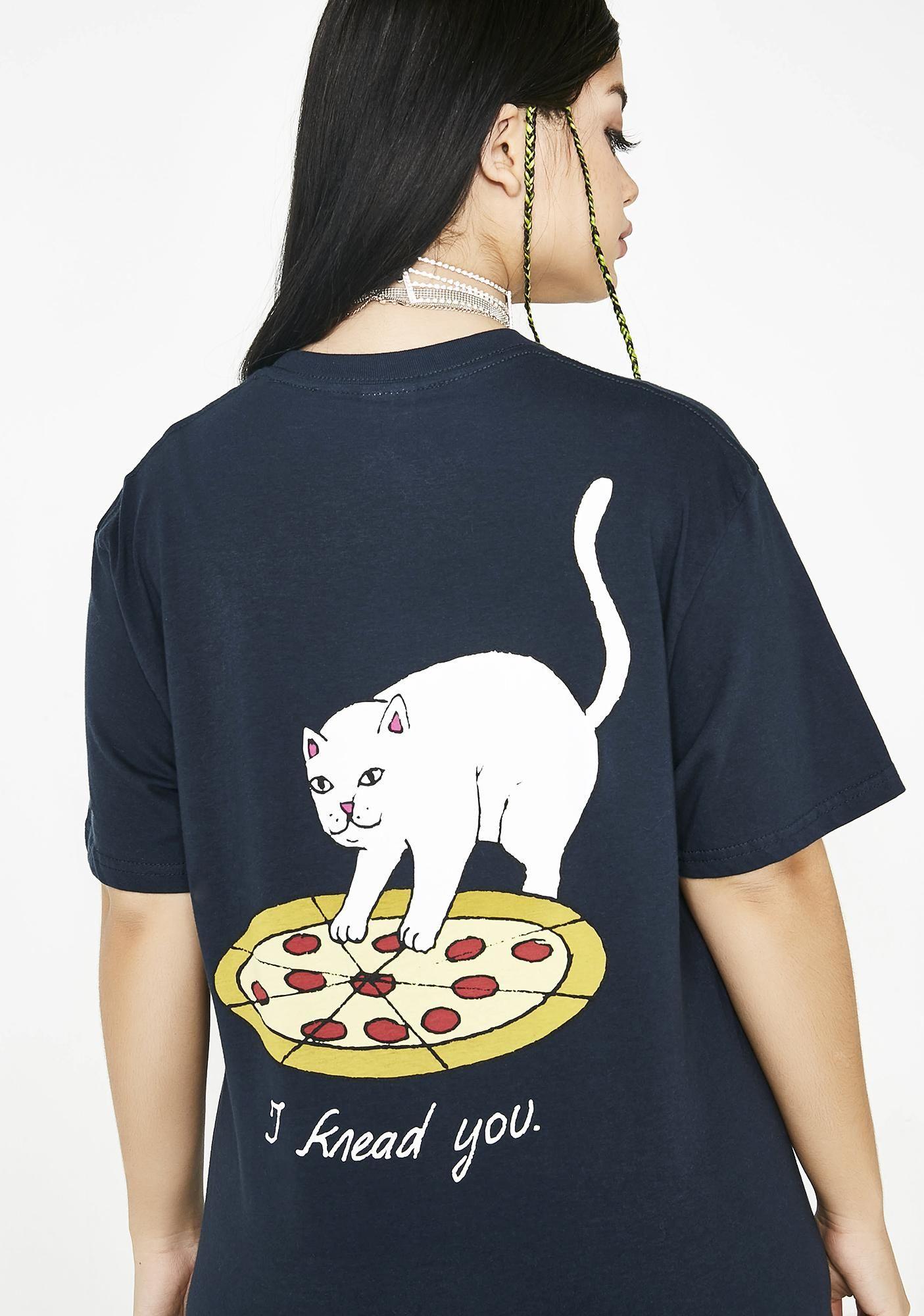 9d1a2d80d27bd9 RIPNDIP P.R.E.A.M. Tee | Dolls Kill #dollskill #ripndip #skate #graphictee # cat #pizza #knead
