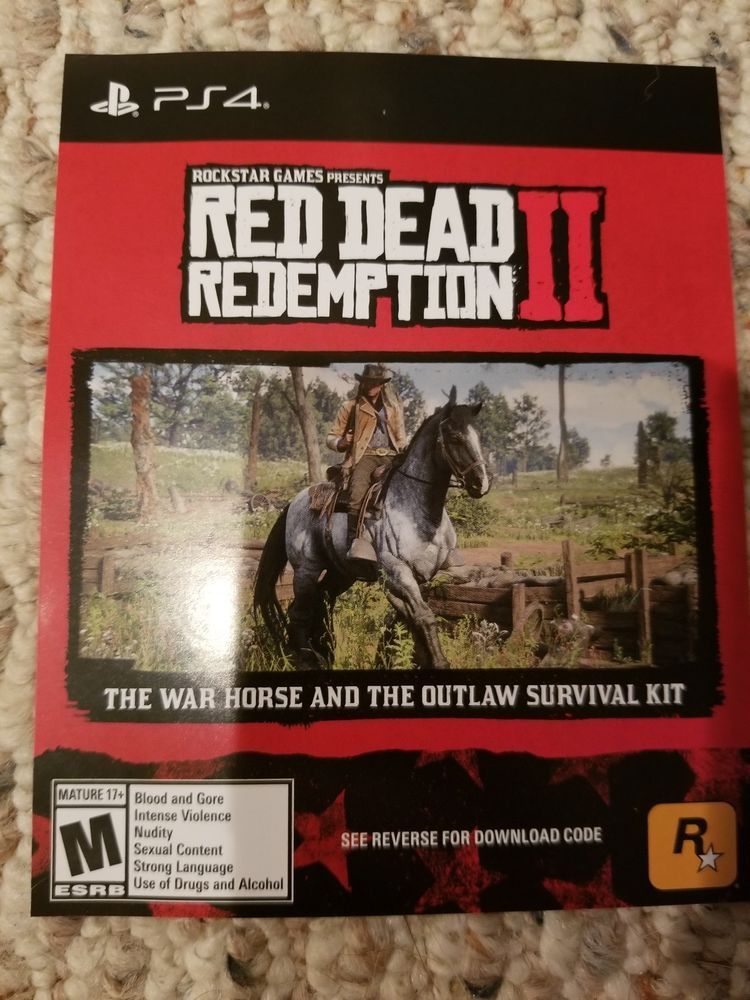 pre order red dead redemption 2 bonus