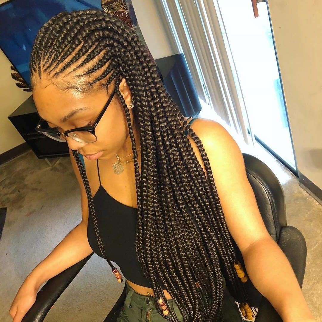 50 Summer Braid Hairstyles That You Simply Can T Miss In 2019 Summer Braids Braided Hairstyles For Black Women Cornrows Cornrows Braids For Black Women Braided Hairstyles