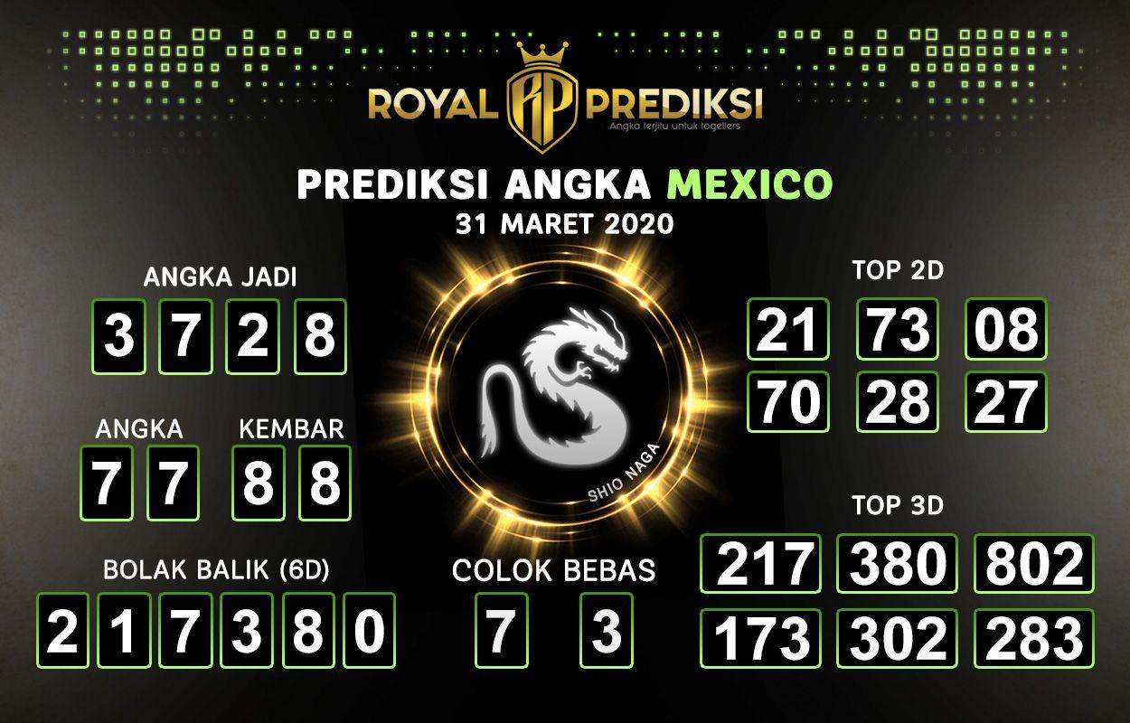 Prediksi Mexico 31 Maret 2020 Hari Selasa di 2020