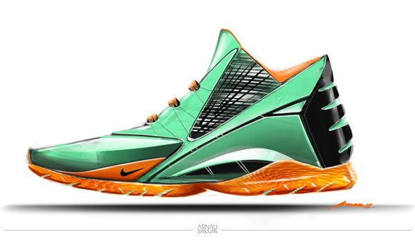 Nike Rain Forest by Arnau Sanjuan, via Behance