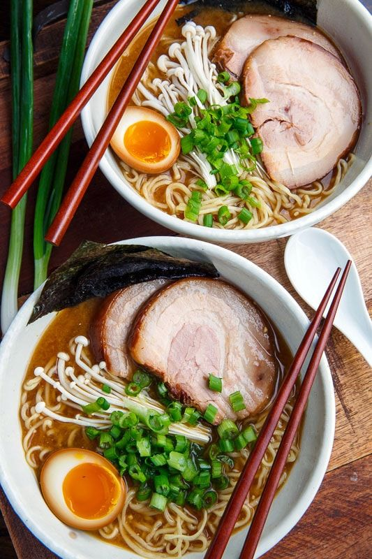 Tonkotsu Ramen   Recipe in 2018   Winter Recipes ...