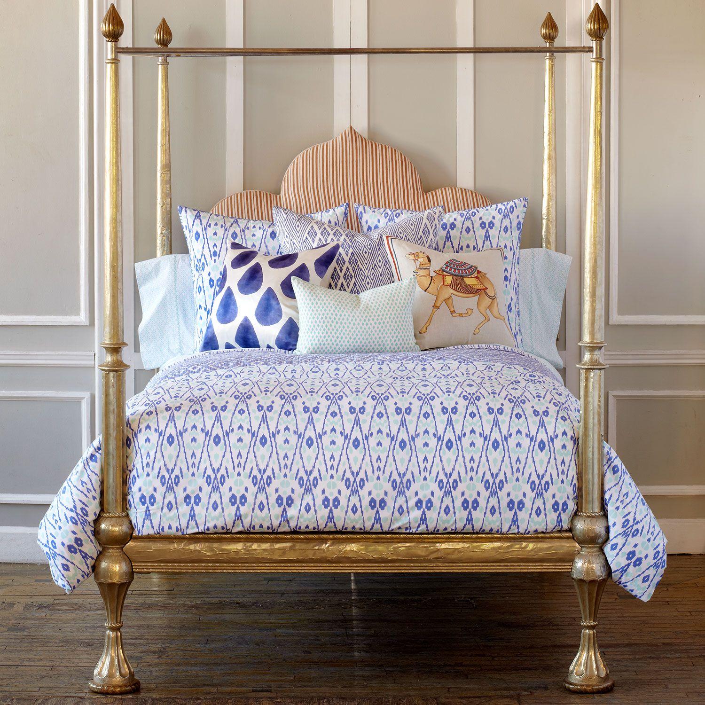 John Robshaw Textiles Agadin Duvet New Bedding NEW