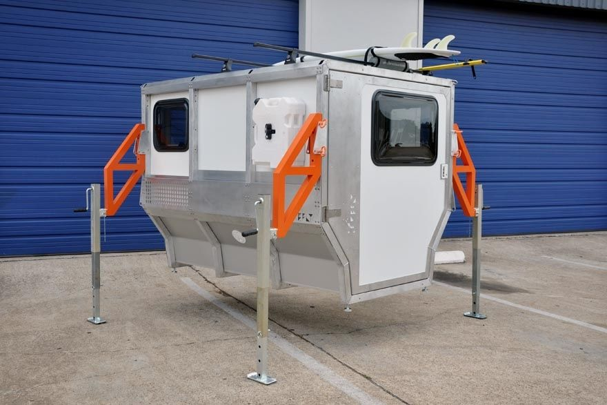 Firefly Compact Camper That Fits In A Pickup Truck Bed Firefly
