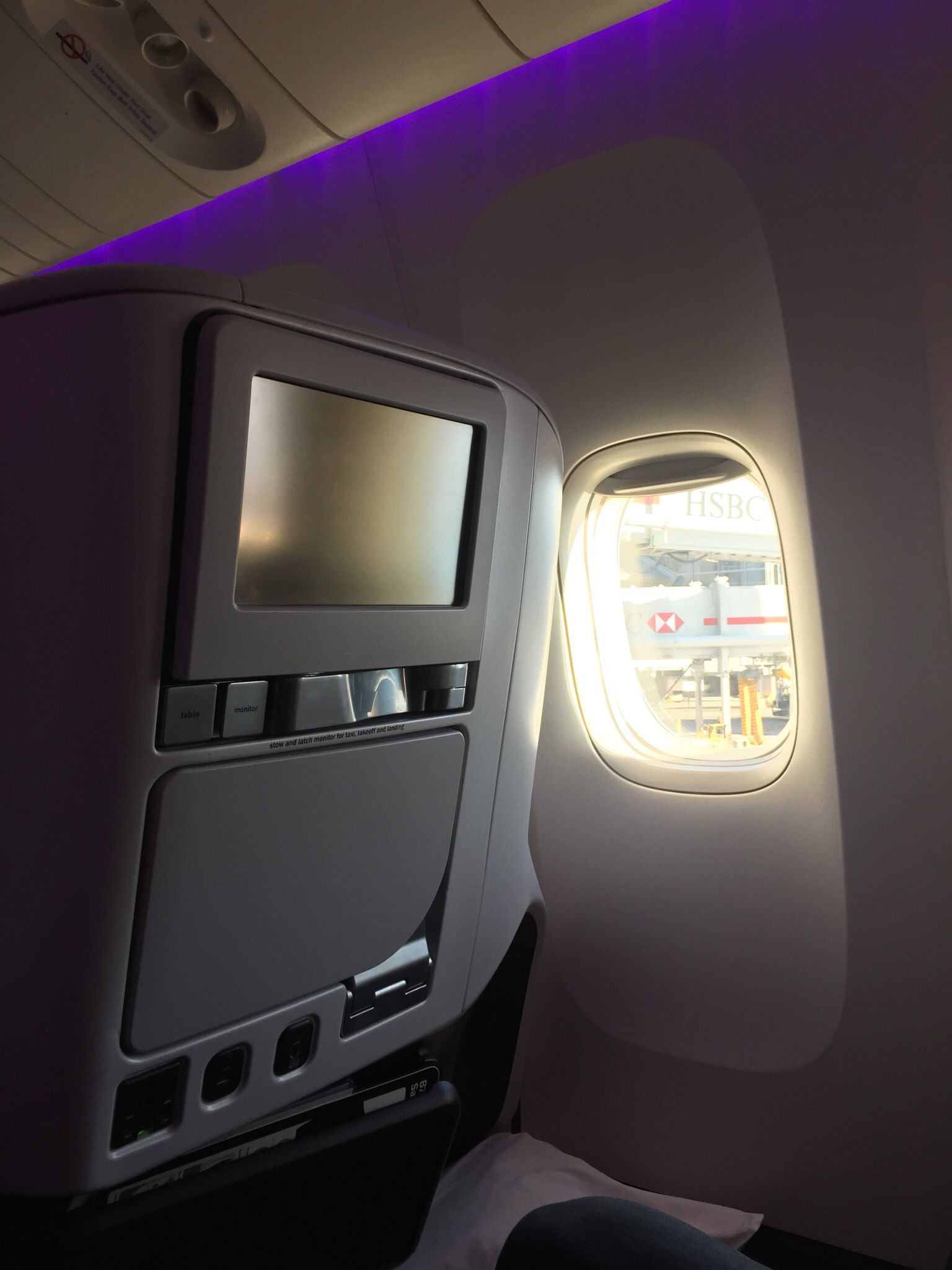 This Is The View From Seat 26j In The Premium Economy Cabin Aboard Air New Zealand S 777 300er You Can Find This Flying Between London Los Air New Zealand Travel Pictures
