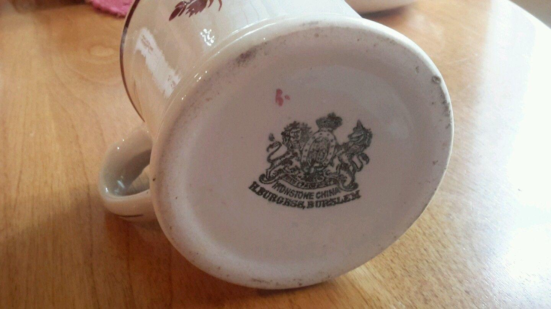 Large Burgess Tea Leaf Tealeaf Shaving Mug W Brush Ebay Tea Leaves Dinnerware Ebay China Dinnerware