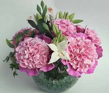 Холодный фарфор мастер класс или цветы из холодного фарфора   cold porcelain