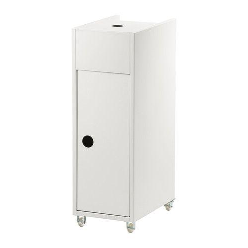 Schön IKEA   KLAMPEN, Rollwagen, Weiß, , Mobil   Inklusive Rollen.Ideal Für
