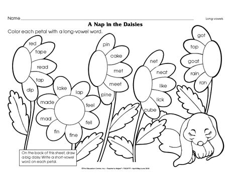 A Nap in the Daisies, Lesson Plans - The Mailbox