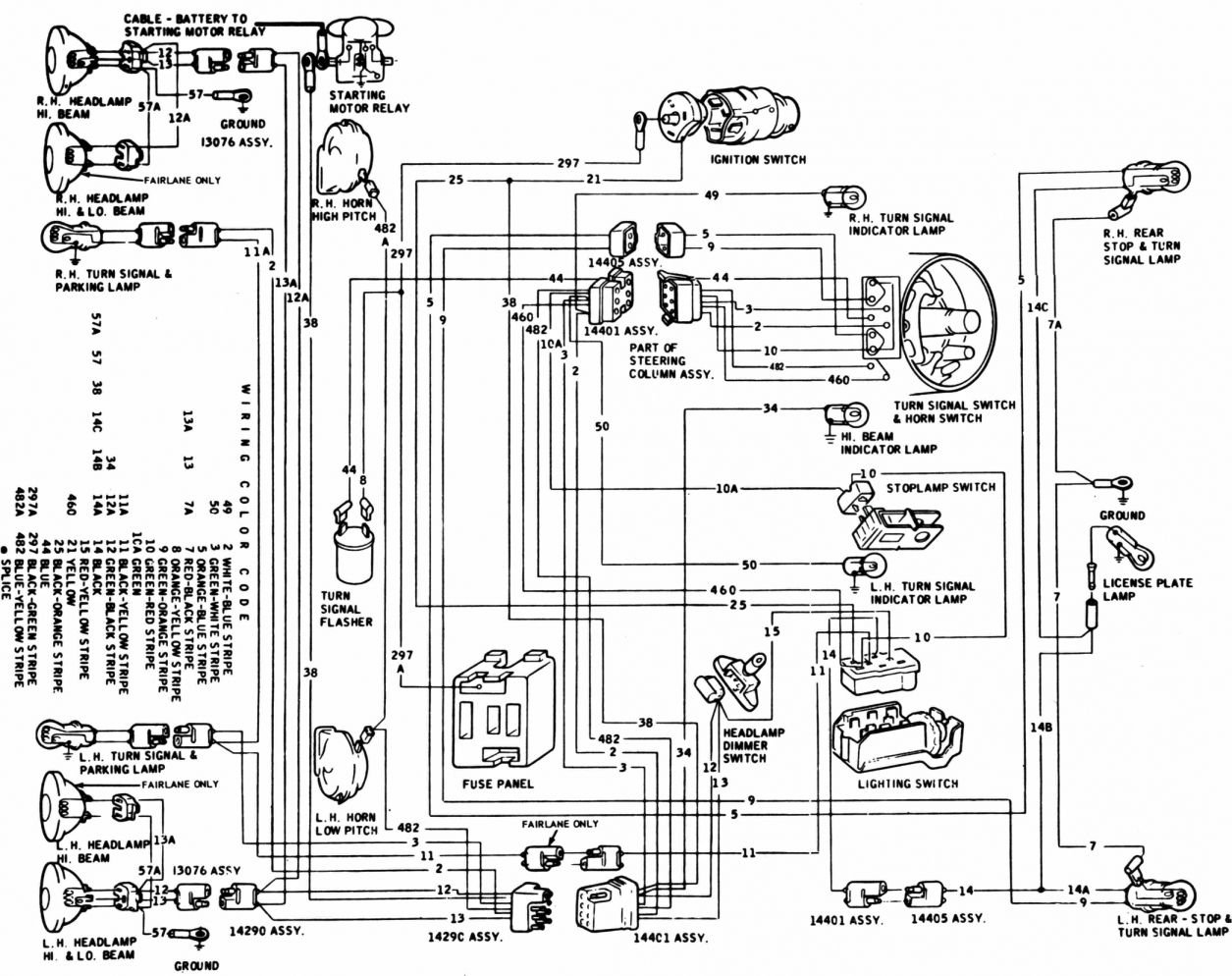 67 Mustang Engine Wiring Diagram And Mustang Engine Diagram Schematics Online En 2020 Mesas De Ordenador Ford