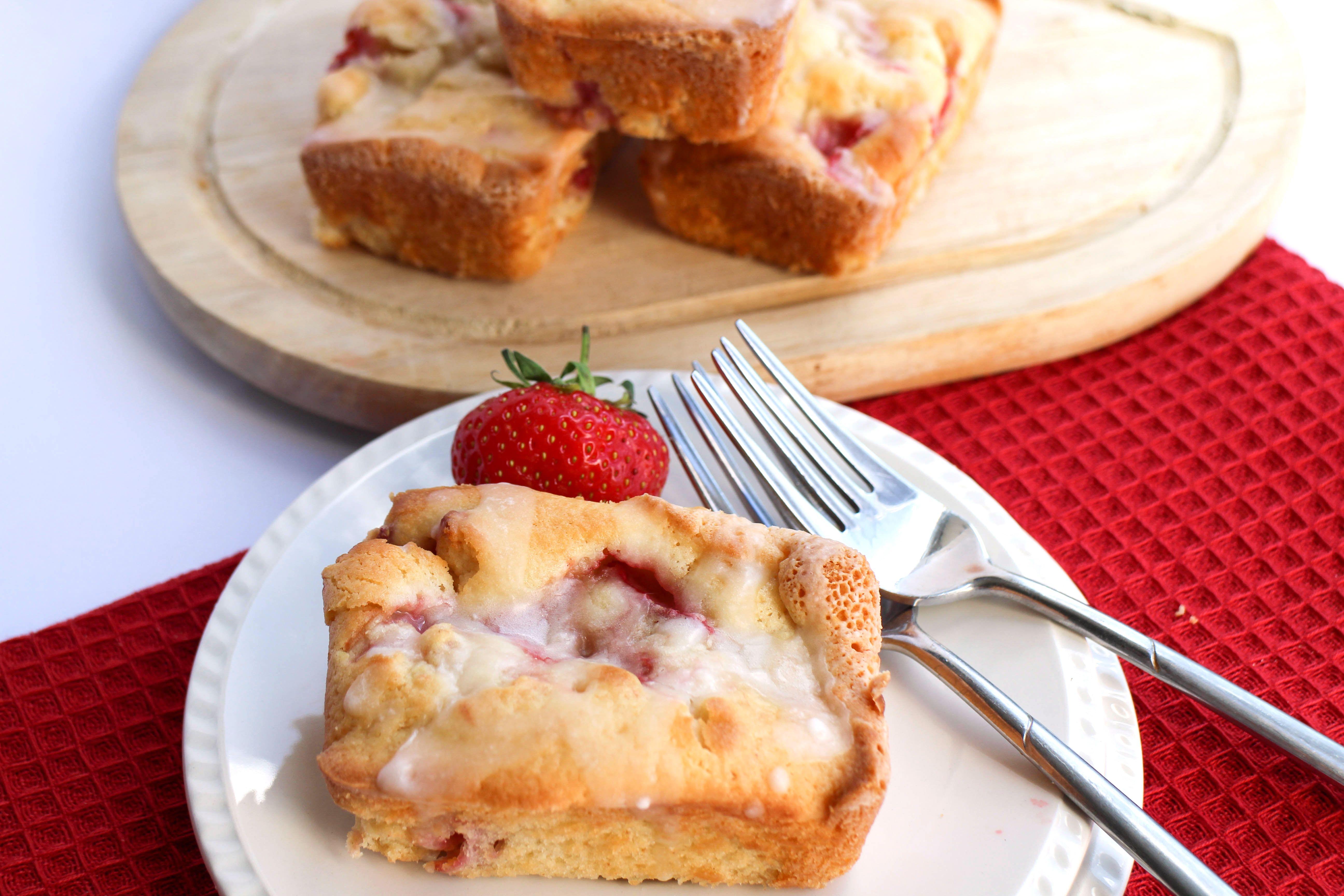 jordbær Støvregn kager