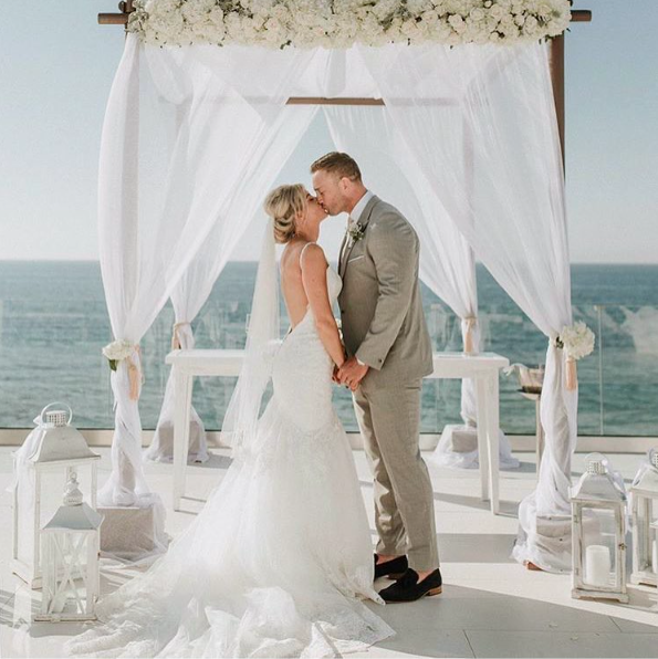 Gorgeous Seaside Wedding In Greece With The Brides Beach Dress By Morilee