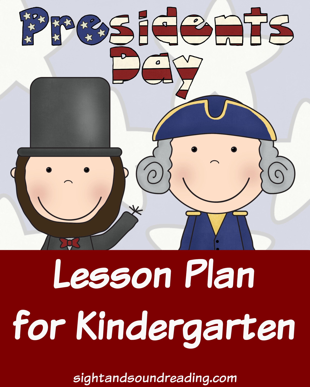 Presidents Day Lesson Plan For Kindergarten