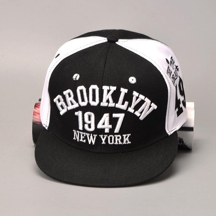 5c199c841df 1947 Brooklyn Style Baseball Cap Sport Hat Gorras Planas Snapback Caps New  York Hip Hop Hats Snapbacks Casquette Cap