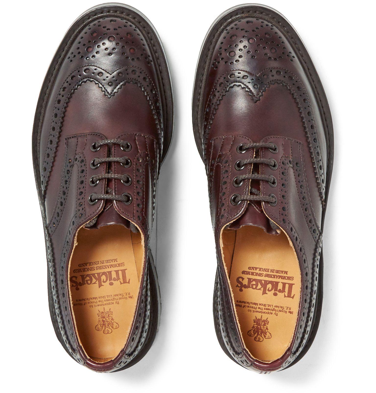 92970a70 TRICKER'S Bourton Leather Wingtip Brogues Horma, Zapatos De Vestir, Botas,  Unico, Moda