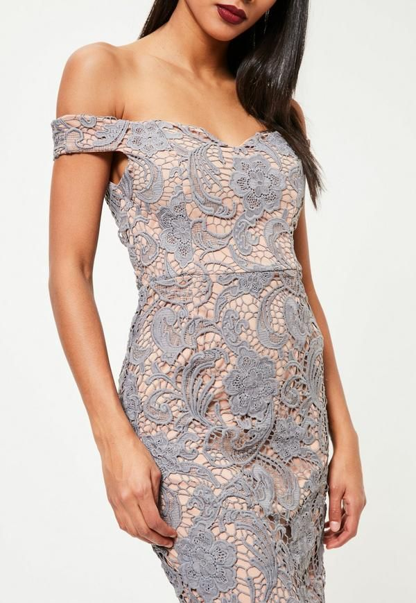 Play Up Your Romantic Side And Look Fresh In This Lace Dress