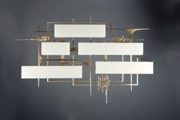 Pair of Wall Lights, circa. 1960, by Anonymous Italian