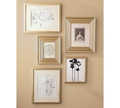 Eliza Gilt Single Opening Frames Champagne Wall Frame