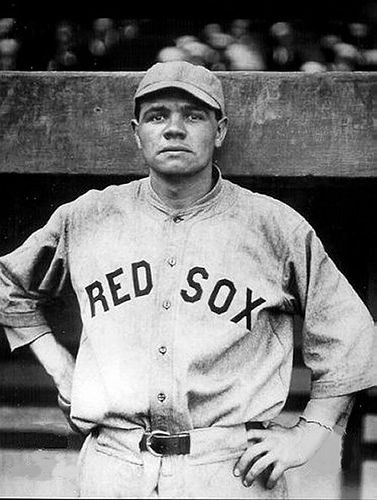 Babe Ruth Boston Red Sox 1914  When It Was Just A Game -5026