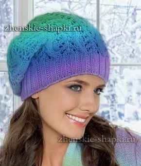 вязание шапки бини спицами схемы и описание Hats Mittens