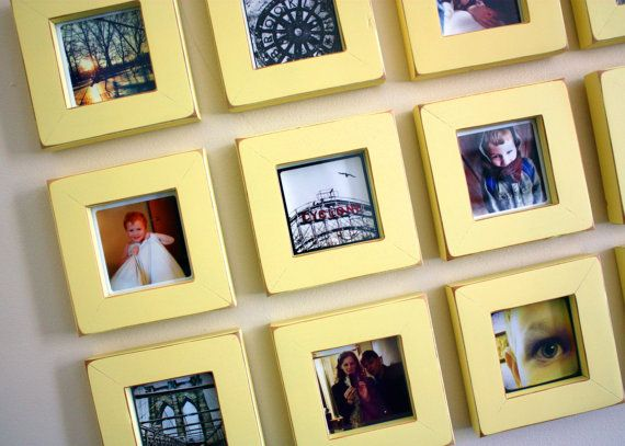 Love this for a structured picture wall!!! | Home Decorating Ideas ...