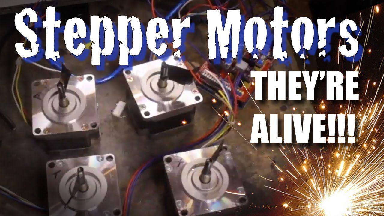 Diy Cnc Stepper Motor Wiring And Test Herramienta Pinterest Arduino