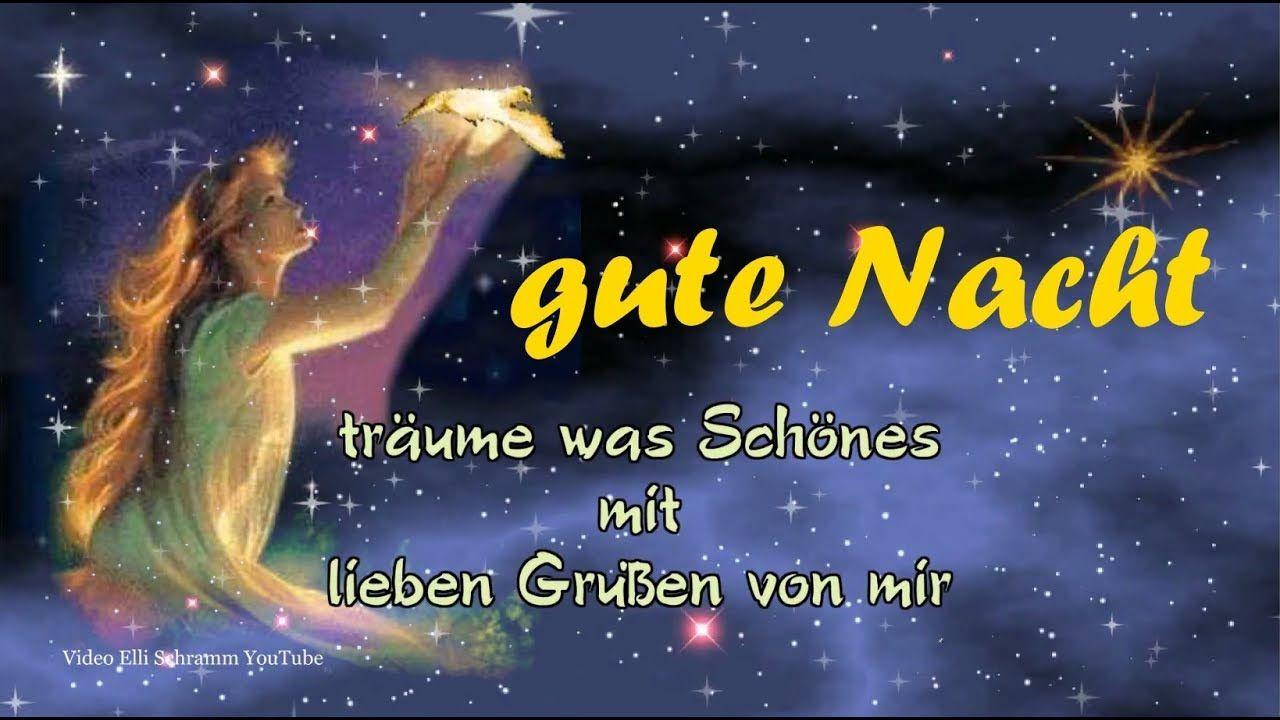 Gute Nacht Gruss Fur Dich Mit Lieben Grussen Von Mir Good Night