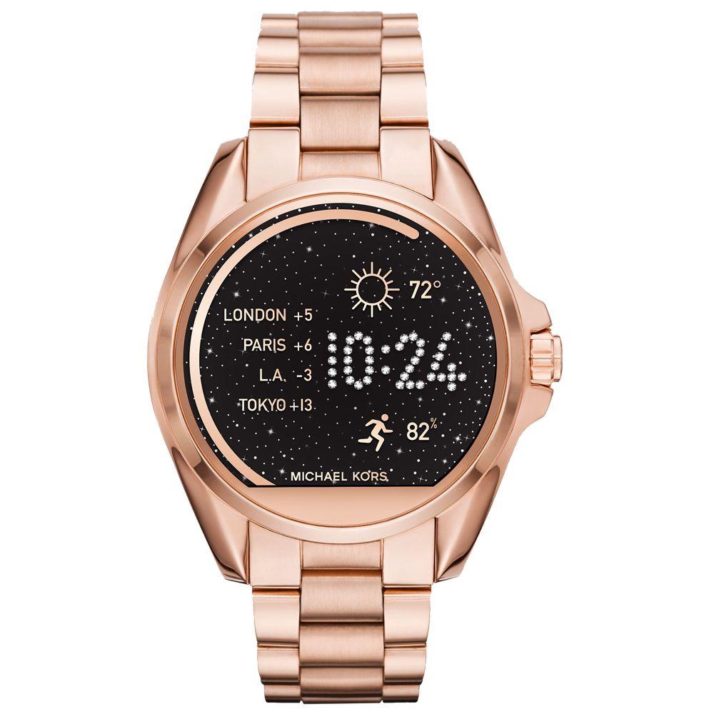 時尚智慧型手錶;與手機科技融合;多種個人化設定;型號:MKT5004