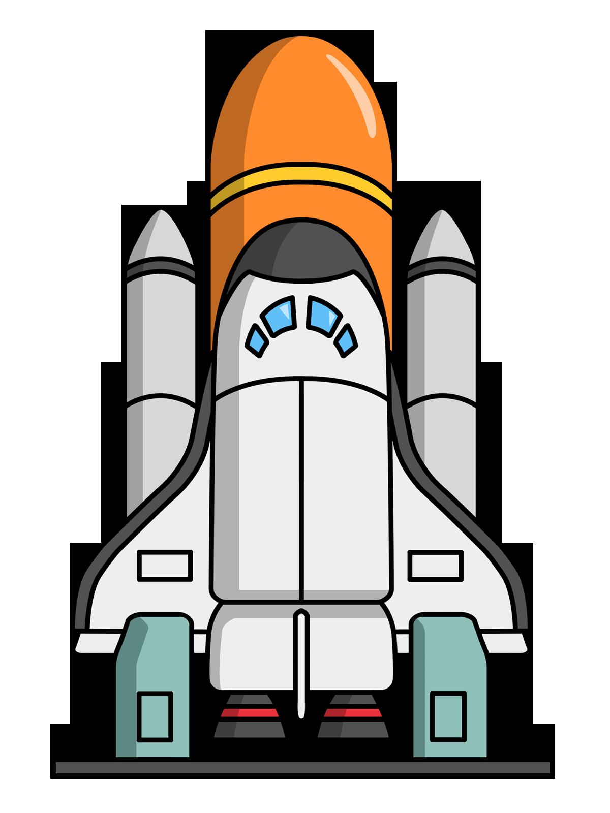 Rocket Ship Clip Art Free | Cartoon Rocketship Space Alien Pla ...