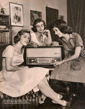 BLAUPUNKT-Radio-Werbung von 1959