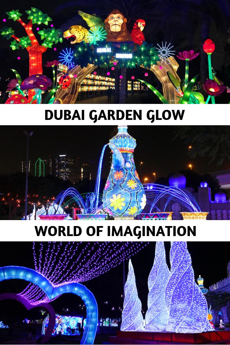 Dubai Garden Glow World of Imagination Dubai garden