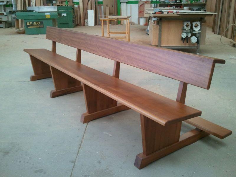 Muebles de madera modernos, trabajos de carpintería para obra nueva - muebles en madera modernos