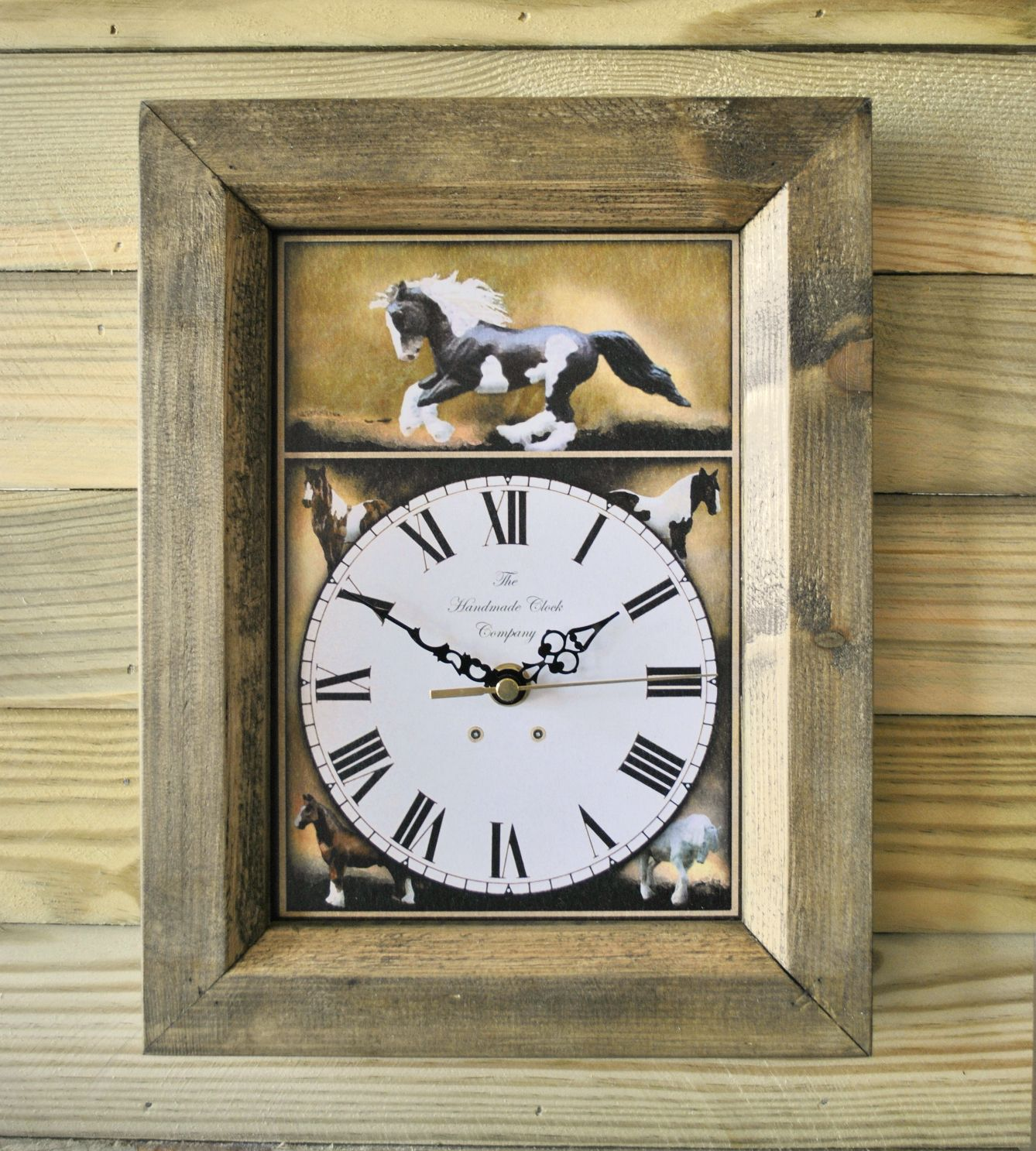 The handmade furniture company rustic gypsy cob handmade wooden the handmade furniture company rustic gypsy cob handmade wooden wall clock 1999 jeuxipadfo Images