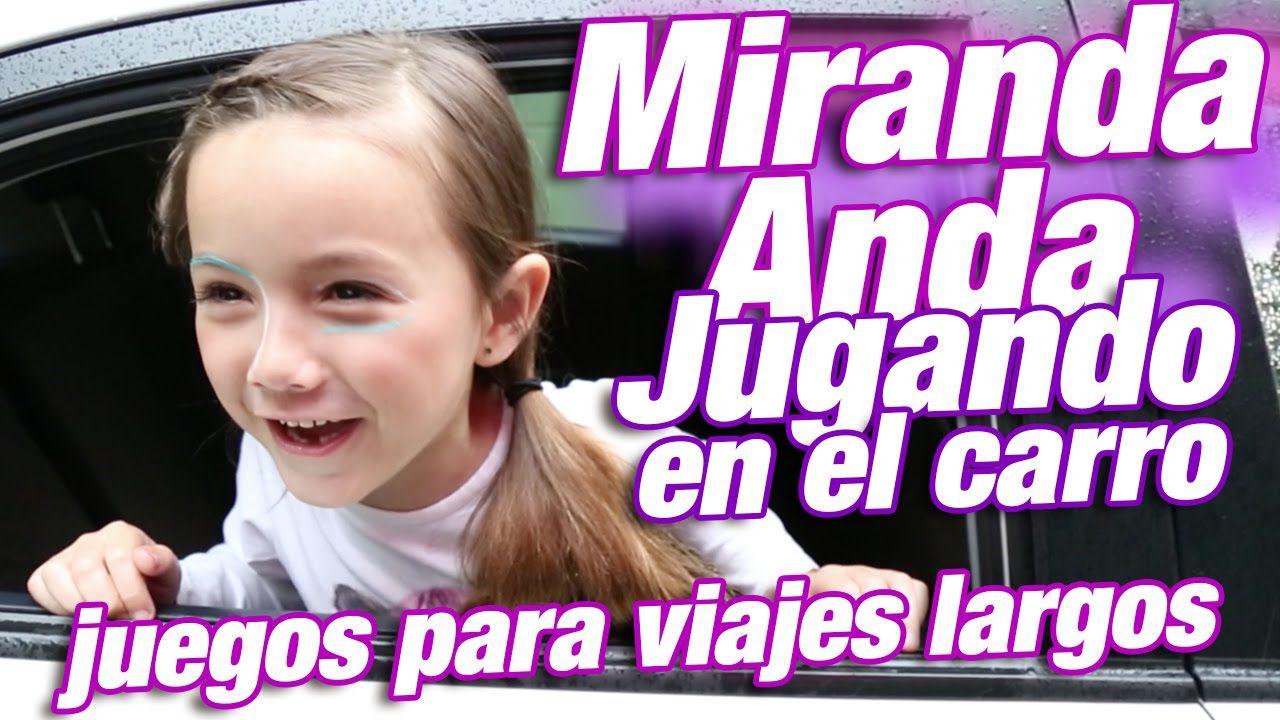 juegos para recrear niños en un viaje / Miranda Anda