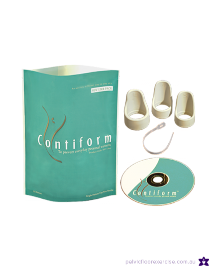 Contiform: discrete internal support for the bladder neck to treat stress urinary incontinence. Inserts like a tampon , supports the bladder neck to prevent ...