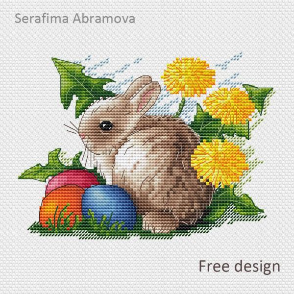 """/""""Easter Miracle/"""" Counted Cross Stitch Kit OVEN 978"""
