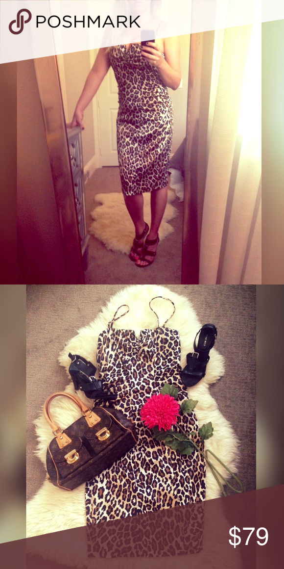 Y Leopard Cach E Dress I Have A